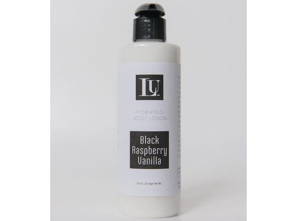 black raspberry handmade body lotion
