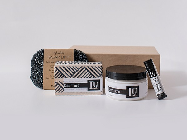 Lather Up Soaps Gift Box Set Three