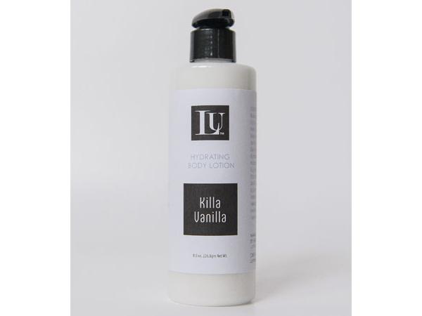 killa vanilla handmade body lotion