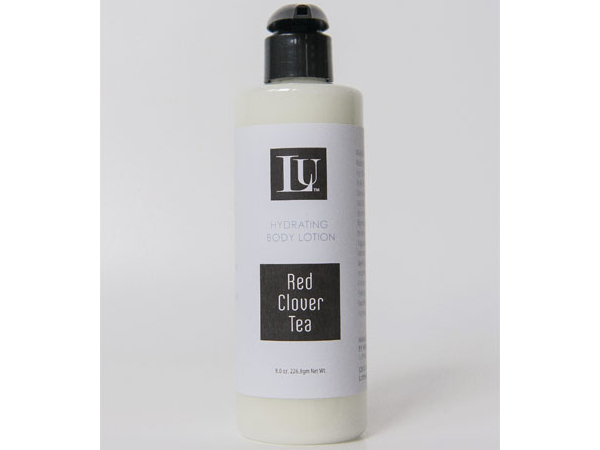 red clover tea homemade body lotion