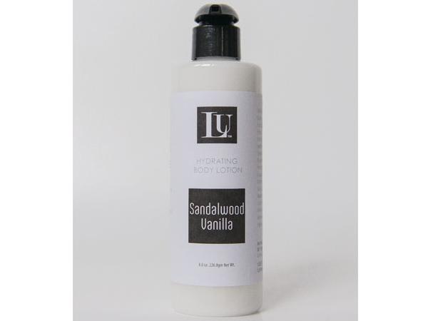 sandalwood vanilla homemade body lotion